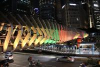 Bentuk Duka Pemprov DKI, JPO GBK Berwarna Bendera Sri Lanka Selama Seminggu