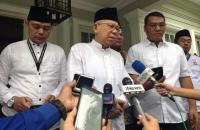 Ma'ruf Amin: Kami Berupaya Rekonsiliasi dengan Prabowo-Sandi
