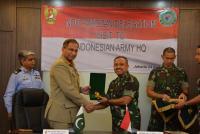 Studi Banding Sistem Pertahanan, NDU Pakistan Kunjungi Mabesad