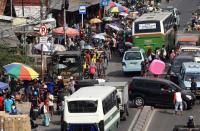 Pemprov DKI Bangun Tempat Penampungan Sementara Pedagang Blok G Tanah Abang