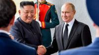 Putin dan Kim Jong-un Bertemu untuk Pertama Kalinya dalam KTT di Vladivostok