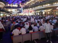 Relawan Alumni Bersatu Ngopi Bareng Syukuran Kemenangan Indonesia Maju di Kemang Village
