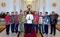 Bertemu Presiden Buruh di Istana Bogor, Jokowi: Bahas <i>May Day</i>