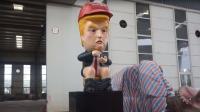 Robot Donald Trump BAB Akan Sambut Presiden AS di Inggris