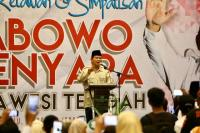 Prabowo Imbau Aksi 22 Mei Berjalan dengan Semangat Perdamaian