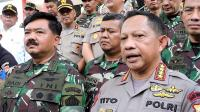 Panglima: TNI Dukung Penuh Polri dalam Menjaga Keamanan Negara