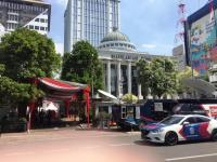 Jelang Pendaftaran Sengketa Pemilu di MK, Lalu Lintas di Medan Merdeka Barat Ditutup
