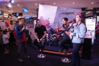 Ramaikan Honda Sport Motoshow 2019, Darius Sinatria & Ibnu Jamil Buktikan Ketangguhan Motor Honda