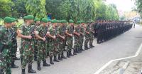 Amankan Gedung MK, TNI-Polri Dapat Dukungan Moral
