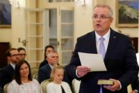 PM Australia Scott Morrison Umumkan Kabinetnya yang Baru
