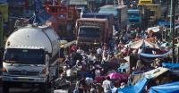 Info Mudik 2019: Awas, Ada 5 Pasar Tumpah di Sragen Kerap <i>Bikin</i> Macet