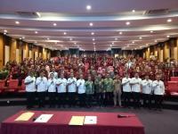 Mahasiswa Unhan Kuliah Umum Prespektif Pertahanan Negara dari Aspek Peran Pasar Modal