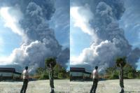 Gunung Sinabung Erupsi, Petugas: Awan Panas ke Arah Tenggara dan Selatan