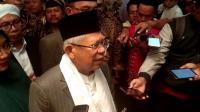 KH Ma'ruf Amin: Kemenangan Masih Digantung