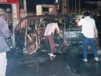 Kronologi Ledakan Mobil yang Menghanguskan SPBU