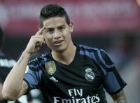 Soal Masa Depan di Madrid, James Belum Bicara dengan Zidane