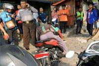 Diduga Kelelahan, Driver Ojol Meninggal di Jok Motornya Jadi Viral