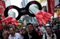 Selipkan Petisi di KJRI, Pedemo di Hong Kong Minta Jokowi Tolak RUU Ekstradisi