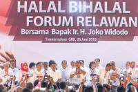 Ada Tugas Negara, Jokowi Batal Hadiri Halal Bihalal dengan Relawan