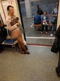 Wanita Ini Nekat Lepas Celana Dalamnya Karena Kesal Tak Dapat Tempat Duduk di Kereta