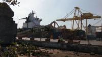 Detik-Detik Kapal Tak Terkendali hingga Tabrak Dermaga Pelabuhan Semarang