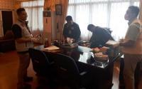 Polisi Sita 24 Barbuk Usai Penggeledahan di Kantor Dispora Sumut