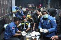 Razia Tempat Hiburan Malam di Tangsel, 4 Pengunjung Positif Narkoba