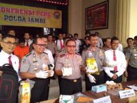 Polisi Gagalkan Penyelundupan Sabu dan Ribuan Ekstasi Asal Malaysia