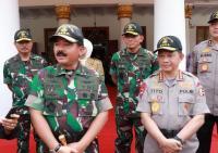 Panglima TNI dan Kapolri Tinjau Karhutla di Kalbar Siang Ini