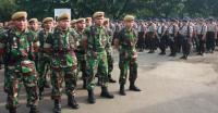 Ratusan Anggota TNI-Polri Patroli Jaga Obyek Vital di Manokwari