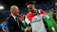Zidane Tegaskan Navas Tetap Bertahan di Real Madrid