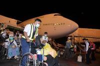 Kabut Asap Tebal Membuat Jamaah Haji Asal Kalbar Mendarat Bandara Soetta