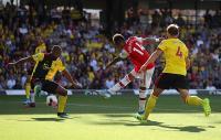 Brace Aubameyang Bawa Arsenal Ungguli Watford 2-0