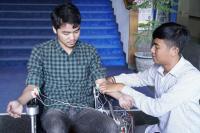 Mahasiswa ITS Buat Kursi Roda Otomatis untuk Disabilitas