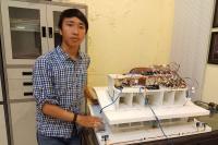 Labib Ciptakan Alat Pendeteksi Ketersediaan Lahan Parkir di Mal