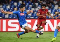 Napoli dan Liverpool Sama Kuat di Babak Pertama