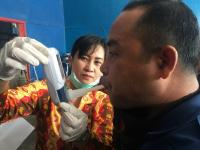 Padamkan Karhutla, Petugas Pemadam Kebakaran Dites Kesehatannya