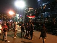Aksi Tolak RKUHP Memanas, Mahasiswa Jebol Pagar Gedung DPR