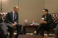 Menlu RI Bahas Kunjungan Presiden Jokowi ke AS dalam Pertemuan di PBB