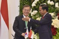 Presiden Korsel, Moon Jae-in: Selamat Atas Pelantikan Sahabat Saya Bapak Jokowi