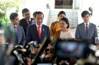 Jokowi: Terima Kasih TNI-Polri & BIN Telah Menjaga Keamanan Pelantikan Presiden