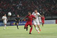Timnas Indonesia U-19 Tertinggal 0-1 dari China U-19 di Babak Pertama