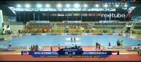 Timnas Futsal Indonesia Unggul 2-0 atas Malaysia di Babak Pertama