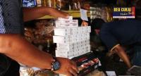 """Tim Bea Cukai Gelar Operasi Pasar """"Berangus"""" Rokok Ilegal di Jepara dan Blora"""