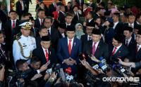 Jokowi Lantik Menteri Kabinet Kerja Jilid 2 Hari Ini