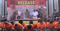27 Pencuri Sadis di Sidoarjo Berhasil Ditangkap Polisi