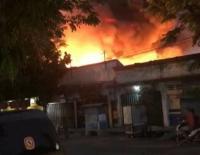 800 Kios di Pasar Tulungagung Ludes Terbakar