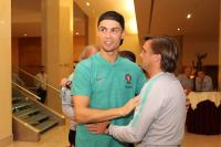 Gelandang Timnas Portugal Bantah Cristiano Ronaldo Alami Cedera