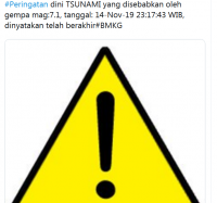Breaking News: Peringatan Dini Tsunami Gempa M 7,1 di Malut Resmi Berakhir!