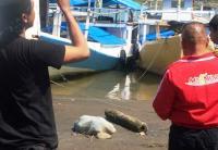 Mayat Perempuan Terbungkus Seprai Ditemukan di Pinggir Sungai
